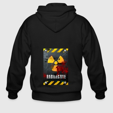 Radioactive sign - Men's Zip Hoodie