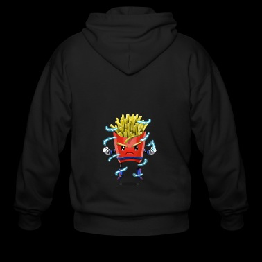 Saiyan Fries - Men's Zip Hoodie