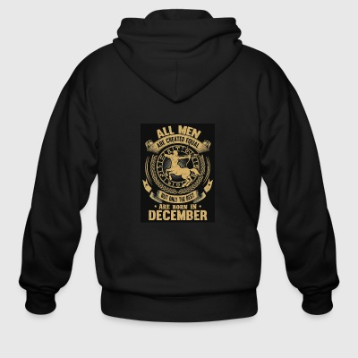 birthday zodiac - Men's Zip Hoodie