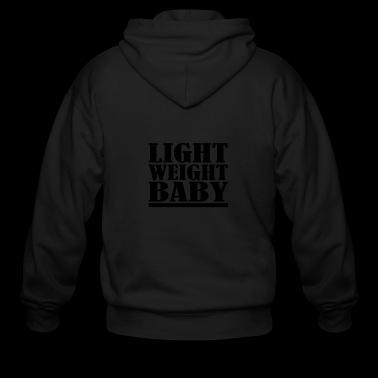 Light Weight Baby - Men's Zip Hoodie