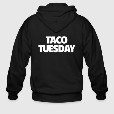 Funny Taco Tuesday T Shirt Love Tacos Shirt - Men's Zip Hoodie