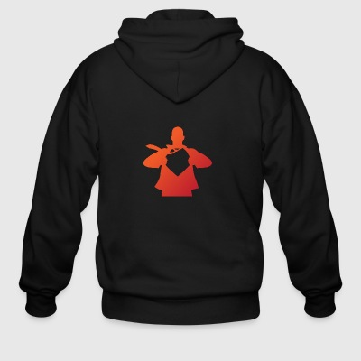 A Strong Man - Men's Zip Hoodie