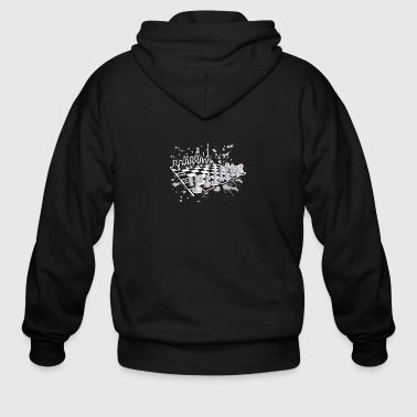 Chess Tee Shirt - Men's Zip Hoodie