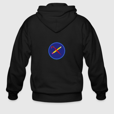 creative playing - Men's Zip Hoodie