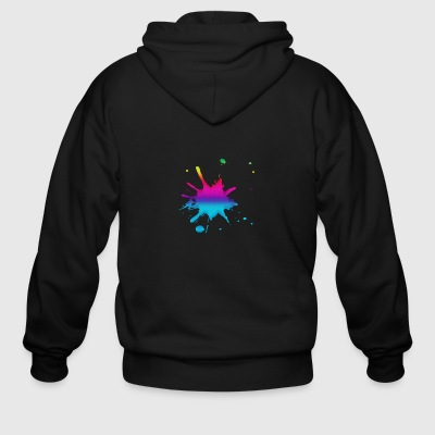 Colours - Men's Zip Hoodie
