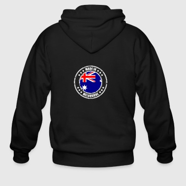 MADE IN MELBOURNE - Men's Zip Hoodie