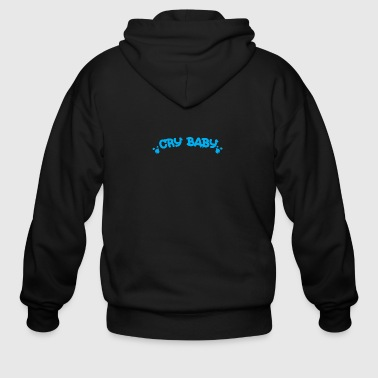Baby Cry Baby Boys blue - Men's Zip Hoodie