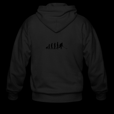 Hockey Evolution - Men's Zip Hoodie