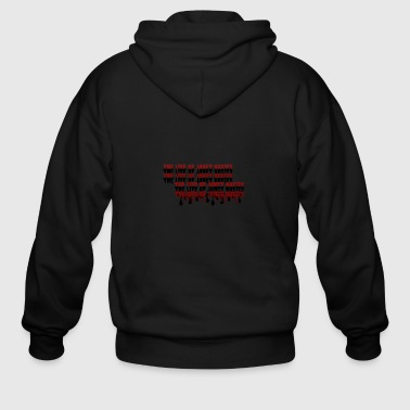 the life of janet rosie - Men's Zip Hoodie