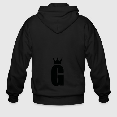 SOLO G CROWN LEADER - Men's Zip Hoodie
