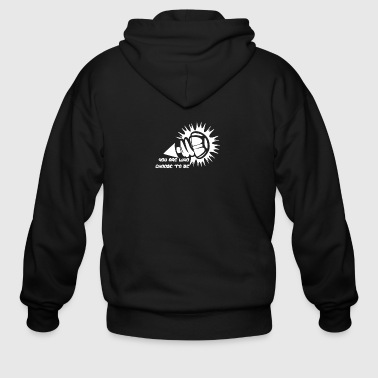 Iron Giant - Men's Zip Hoodie