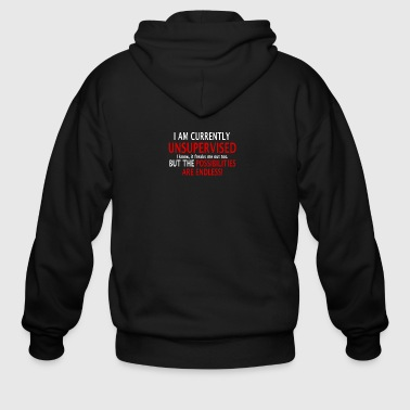 Possibilities Endless - Men's Zip Hoodie