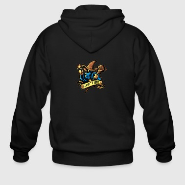 Cast Fire - Men's Zip Hoodie