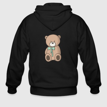 Teddy Bear - Men's Zip Hoodie