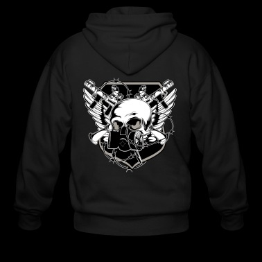 GANGSTER by NIGHTRAY - Men's Zip Hoodie