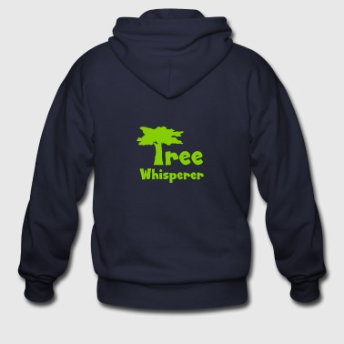 Tree Whisperer - Men's Zip Hoodie