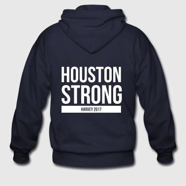 HOUSTON STRONG - Men's Zip Hoodie