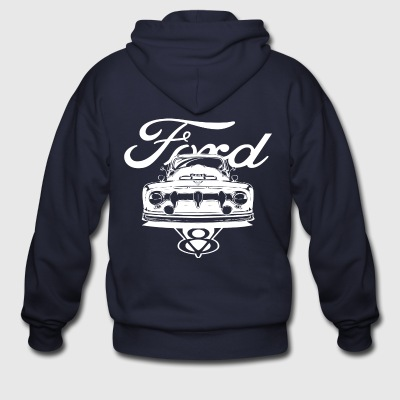 1952 Ford Pickup Shirt - Men's Zip Hoodie