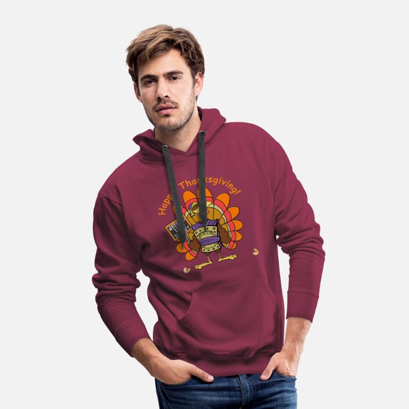 CHRISTMAS JUMPER SWEATSHIRT KEEP CALM STUFF THE TURKEY CUSTOM PRINTED XMAS