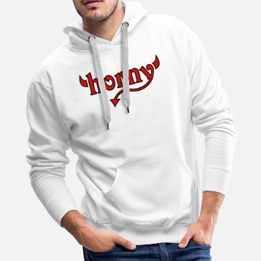 Provocation horny - Men's Premium Hoodie