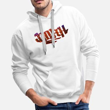 Birth Name Noah Name Design - Men's Premium Hoodie