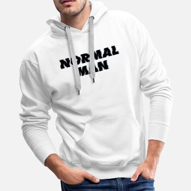 Normal Man - Men's Premium Hoodie