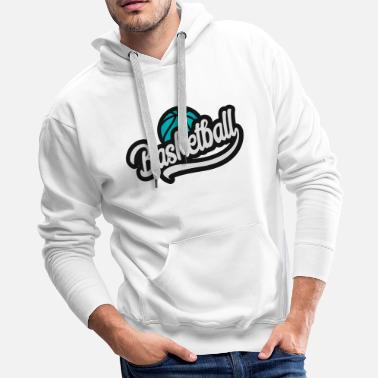 Basketball Blue - Men's Premium Hoodie