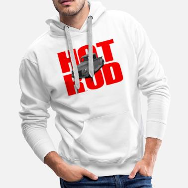 1940 Ford Hot Rod Pick Up Truck - Men's Premium Hoodie