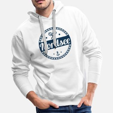 North Sea North Sea,north,sea,holiday,island,anchor - Men's Premium Hoodie