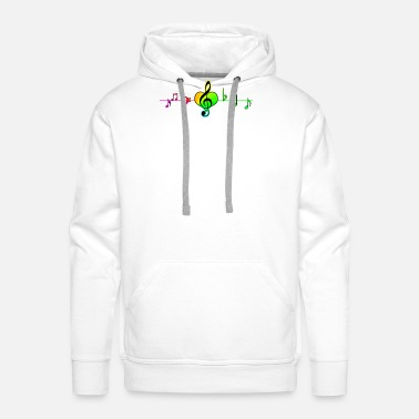Jamaica Reggae Heartbeat full of music Gift - Men's Premium Hoodie
