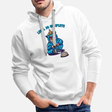 30 TH BIRTHDAY PARTY GIFT FOR SIGN FOR GAMER - Men's Premium Hoodie