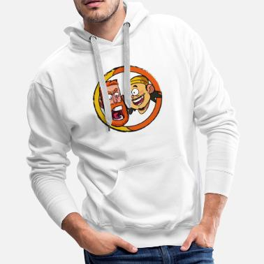 Tom BAD FRIENDS PODCAST - BOBBY LEE - ANDREW SANTINO - Men's Premium Hoodie