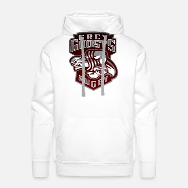 Grey Ghosts Rugby - Men's Premium Hoodie