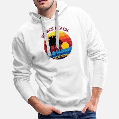 Venice VENICE BEACH CALIFORNIA T-SHIRT DESIGN - Men's Premium Hoodie
