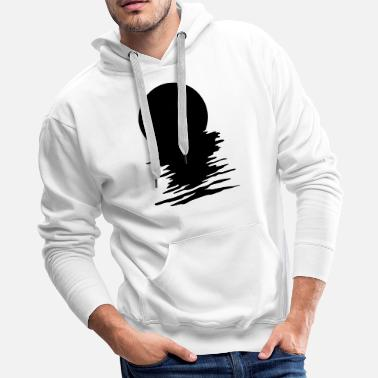 Reflection in Water - Men's Premium Hoodie