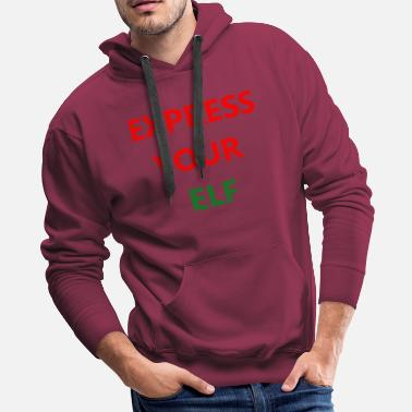 Expression Express - Men's Premium Hoodie