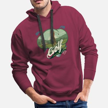 Association No Golfing Association - Men's Premium Hoodie