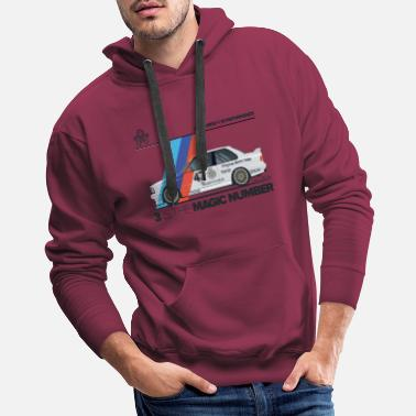 Ford Jon Forde 3 Is The Magic Number - Men's Premium Hoodie