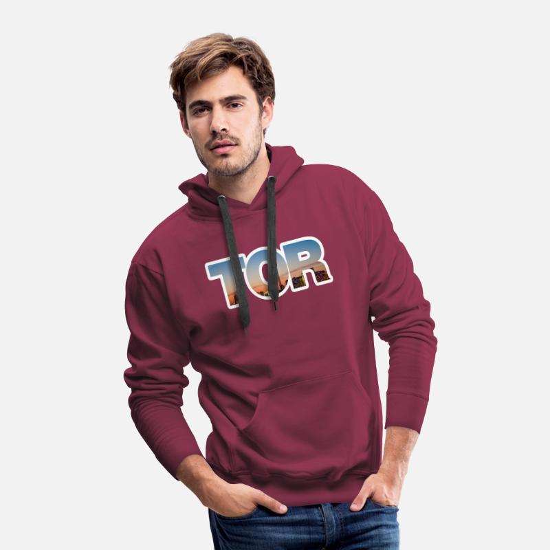 58968dab5e9 Toronto Raptors Tor Skyline Men's Premium Hoodie | Spreadshirt