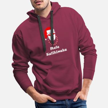 Party Mele Kalikimaka T-Shirt Christmas Funny Holiday Pa - Men's Premium Hoodie