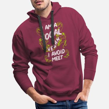 Shy Introverted Introverts Introvert Social Awkward - Men's Premium Hoodie