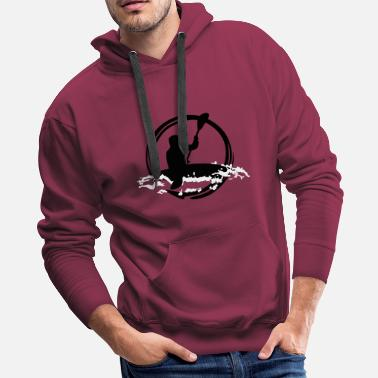 Whitewater Whitewater Kayaking - Men's Premium Hoodie