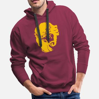 Christ JESUS CROWN OF THORNS - Men's Premium Hoodie