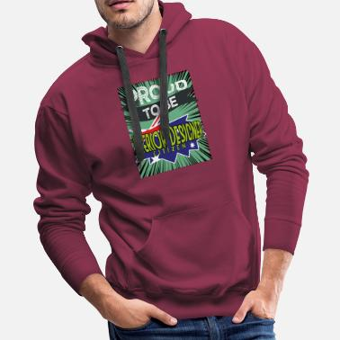 Architect Proud to be interior designer citizen - Men's Premium Hoodie