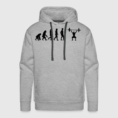 Weight lifting - Men's Premium Hoodie