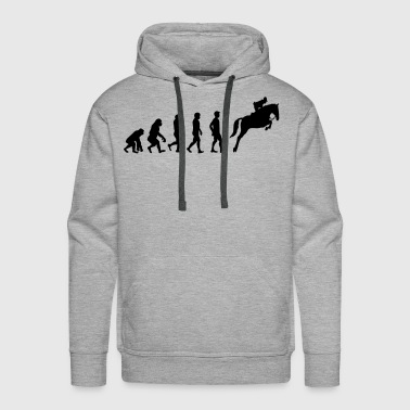 Horse evolution - Men's Premium Hoodie