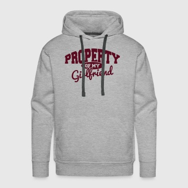 PROPERTY OF MY GIRLFRIEND - Men's Premium Hoodie