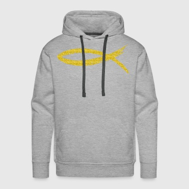 The fish - Christianity - Men's Premium Hoodie