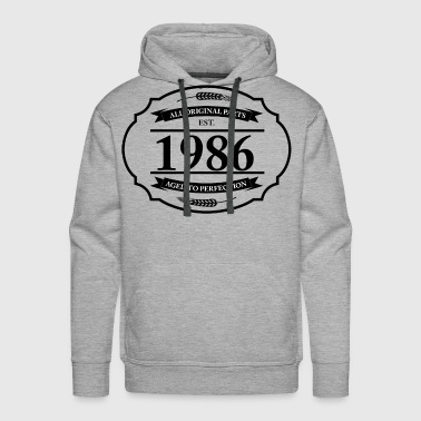 All original Parts 1986 - Men's Premium Hoodie
