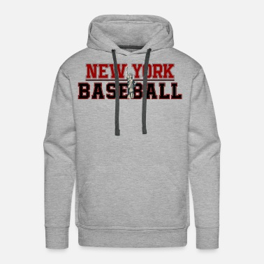 Bronx Baseball In New York - Men's Premium Hoodie